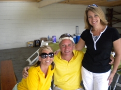 Hillary, Dan and Robin. One lucky boy!  Pine Hills 2009.